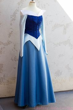 Walk once upon a dream as the lovely Sleeping Beauty princess with my custom made to order Aurora gowns! Contact me for info on a payment plan Disney Inspired Dresses, Disney Dresses, Aurora Costume, Costume Dress, Disney Princess Cosplay, Cosplay Outfits, Quinceanera Dresses, Dream Dress, Playing Dress Up