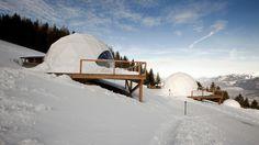 Whitepod - das ultimative Luxuserlebnis in den Alpen - Schweiz Tourismus
