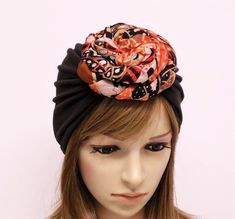 Your place to buy and sell all things handmade Turban Hat, Top Knot, Rosettes, Chocolate Brown, Hats For Women, Doughnut, Trending Outfits, Unique Jewelry, Etsy