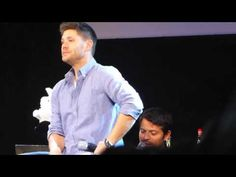 Misha and Jensen Panel - The Rabbit  :D    #JIB 2014 OMG the laughter at the ends just kills me!!! nothing could be more adorable!!!