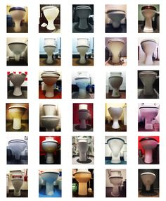 "Szuszi Loo is a smartphone photographer who has created a beautiful typology of toilets on instagram called potty4porcelain. ""It's more about form than function."" https://www.instagram.com/potty4porcelain/"