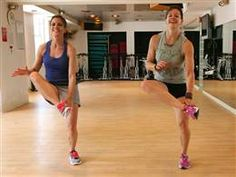 Jenna Wolfe, Natalie Morales do 10 exercises in 10 minutes