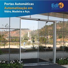 Edlei - Portas Automáticas de Vidro.