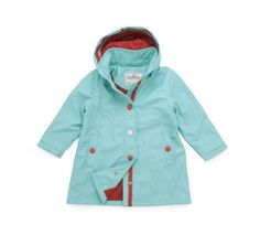 Hatley Teal Red Waterproof Raincoat at Wellies and Worms £39.99