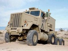 1980 AM General is a 16 ton Army Truck! Heavy Duty Trucks, Big Rig Trucks, Heavy Truck, Cool Trucks, Army Vehicles, Armored Vehicles, Tactical Truck, Hors Route, Expedition Vehicle