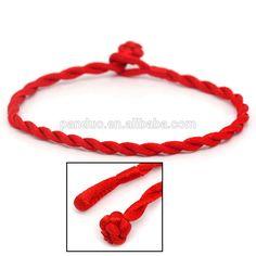 Fashion Terylene Braided Lucky Red String/Rope/Cord Bracelet