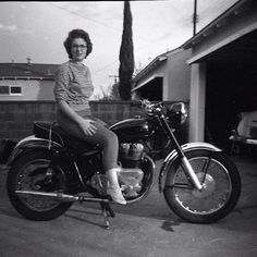 Royal Enfield Rider. via These Americans