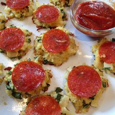 Quinoa Pizza Bites (remove onion + garlic for low-FODMAP version)