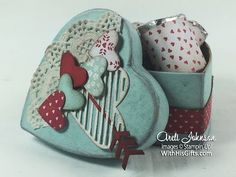 Join me in my craft room today to learn how to create this beautiful box of Valentine chocolates using Stampin' Up!'s Sealed With Love Bundle! All Stampin' U...
