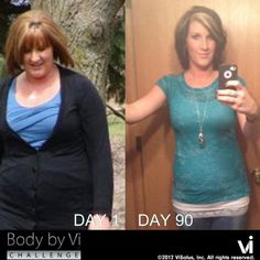 90-Day Weight-Loss Results! Find out more at: www.my-body-by-vi.com/Project10