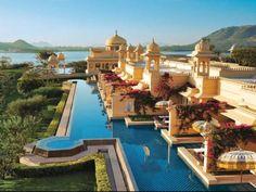 Oberoi Hotel in Jaipur, India.
