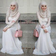 soiree hijab dress