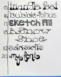Michelle Rydell on Flickr - Letter Love 101