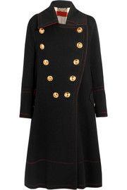 -Burberry- Manteau en laine et cachemire mélangés à double boutonnage