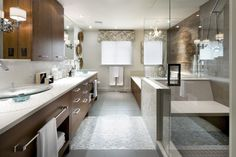 Newest Bathroom Makeovers by Candice Olson | BATHROOMS | Pinterest on
