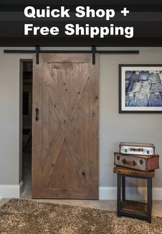 Quick Shop X Barn Door Package (Save Over $200) from graftedhardware.com