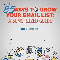 Email marketing is one of the MOST effective ways of marketing your business.  But where do you start?  We put our heads together to come up with 85 ways (YES, you read that right) to grow your email list, so you can make more #money.  Copy and paste the link below to grow your list like crazy:  http://sumo.ly/iX0A  http://sumo.ly/iX0A  http://sumo.ly/iX0A