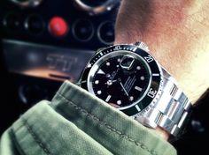 sharperman:   M65 Jacket and Rolex Submariner... - Sharperman