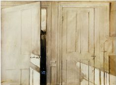 Andrew Wyeth, 'Open and Close'