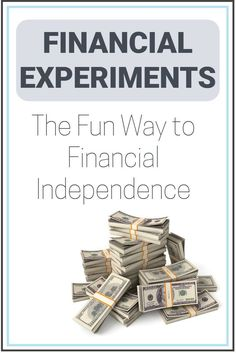 What if I told you finances are fun? That saving money, spending less and calculating tax returns is basically a hobby? That calculating your budget is something you can look forward to? Financial Experiments are the best way reach Financial Independence! Here's a step by step process to do your first Experiment! | Financially Mint | Financial Experiments | Financial Education