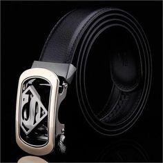 Ceintures, ceintures homme, ceinture automatique boucle de ceinture d'affaires, ceinture de loisirs, ceinture de mode, ceinture classique, les hommes, les hommes Longueur: 120cm; largeur: 3.3cm.