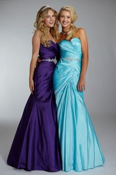 purple and turquoise!