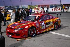 Check out this hot Nissan Silvia S15 RS-2 HKS D1 Hyper Tuning #Drift car! Click for more pics