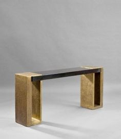 Herve Van der Straeten: Console Maillon 202 | Luxury Interiors, luxury furniture, designer furniture, high end furniture, home design,  For more inspirations: http://www.bocadolobo.com/en/inspiration-and-ideas/