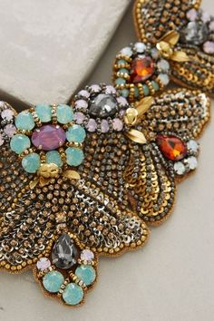 Starfall Bib Necklace - anthropologie.com