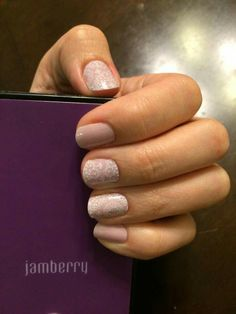 Whisper, layered over top of Daydream. So pretty! Go to jamswithkara.jamberrynails.com Buy 3 wraps, Get the 3rd for FREE!!!
