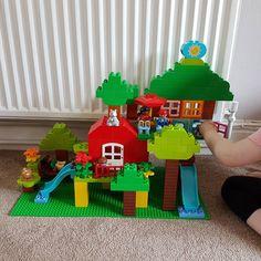 We accepted your tree house challenge @citroengeleduplo . . #duplo #treehouse #lego #legoduplo #legogram #bricks #brickcentral #bricknetwork #legoart #duploart #kids #toddler #building