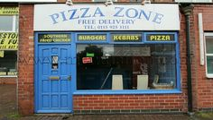 Pizza Zone, Queens Road, Beeston (Nottingham) NG9 2DB - takeaway and delivery; pizzas, garlic breads, kebabs, burgers, chicken, salads, pasta, jacket potatoes.. See their menu, phone number, opening hours, address, location, comments, hygiene rating and more - http://www.menulation.com/pizza-zone-takeaway-beeston.html  #pizza #takeaway #menu #fastfood #burgers #menu #Beeston #Nottingham
