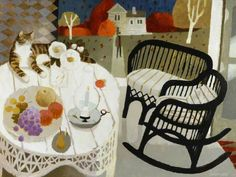 Your Paintings - Mary Fedden paintings Still Life Art, Art Uk, Naive Art, Your Paintings, Abstract Paintings, Art Google, Cat Art, Contemporary Art, Illustration Art
