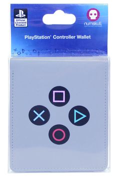 It doesn't matter whether you've got money to put in it or not, this Official Sony PlayStation Controller Wallet just looks so cool that you'll have to get it. With recognisable retro gaming details taken from one of the best consoles of all time, you better believe that this is one wallet that you'll want to withdraw to fill up!