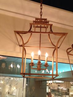 Brighton Pagoda lamp in gilded iron is lovely - from Visual Comfort at C&D #hpmkt