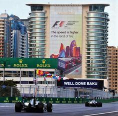 Grand Prix in Azerbaijan - 2016