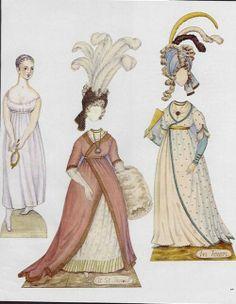 Emma - A Young Lady of Fashion | Gabi's Paper Dolls