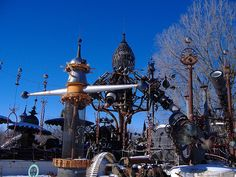 Dr Evermore's Foreverton Sculpture Garden by La Libertad, via Flickr