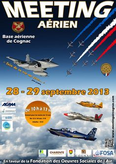 Meeting aérien. Du 28 au 29 septembre 2013 à Châteaubernard.  10H00
