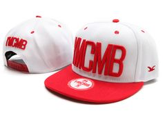 YMCMB Snapback Hats Caps Red White 1846