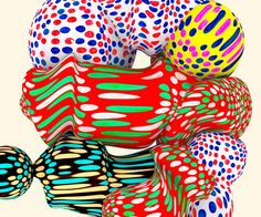 3D patterns and illustrations by Santtu Mustonen