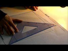 Clase 20 - TRAZADO DEL PANTALÓN (PATRON BASICO) - YouTube