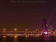 Willemsbrug in Rotterdam, Zuid-Holland