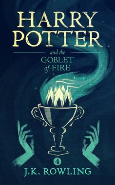 Harry Potter and the Goblet of Fire Harry Potter Ebook, Harry Potter Book Covers, Harry Potter Poster, Harry Potter Facts, Harry Potter Movies, Fantasia Harry Potter, Desenhos Harry Potter, Long Books, Fire Book