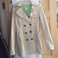 Lacoste jacket Great condition beside small ink stain near the button. Lacoste Jackets & Coats