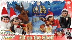 Elf on the Shelf Clothes (Claus Couture Collection) and Elf Pets Reindeer