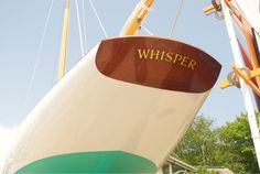 WHISPER. Buzzards Bay 15 Footer.