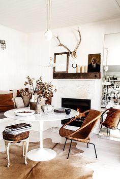 Los detalles de la casa. | Galería de fotos 5 de 15 | AD MX...love the use of mirroe