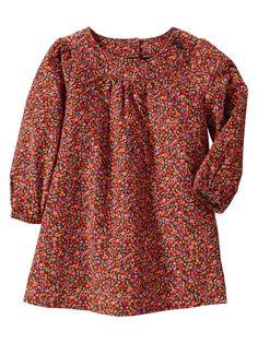 Gap | Printed corduroy dress