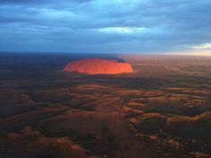 Fly over Uluru/Ayers Rock! #travel #australia